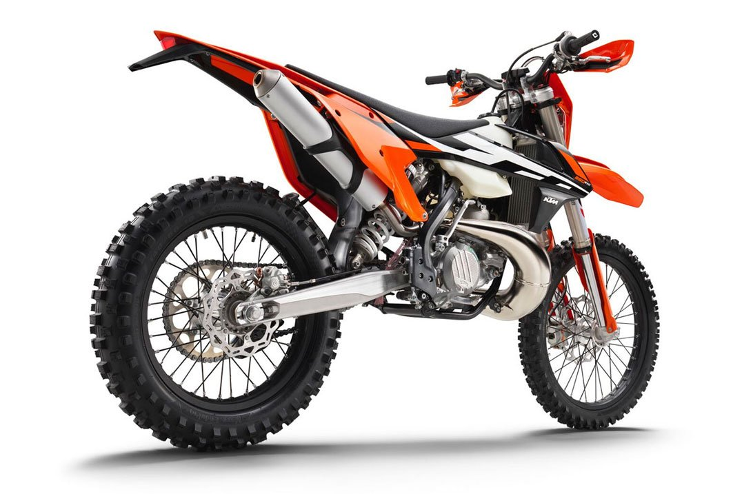 KTM EXC250 Radiators are strong and well made