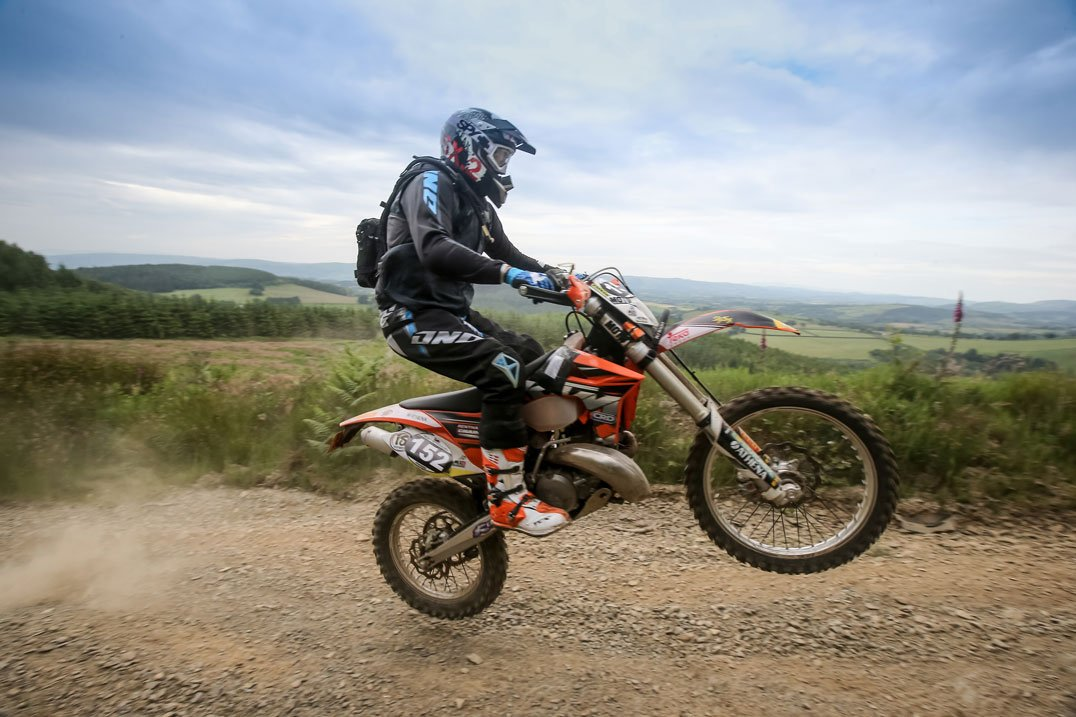 KTM EXC250 Exhaust gives plenty of power