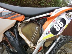 how to properly clean a dirt bike air filter