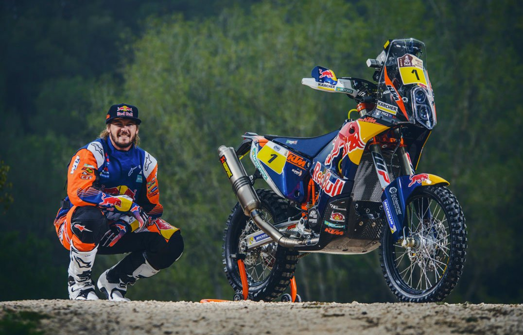 Toby Price and his KTM