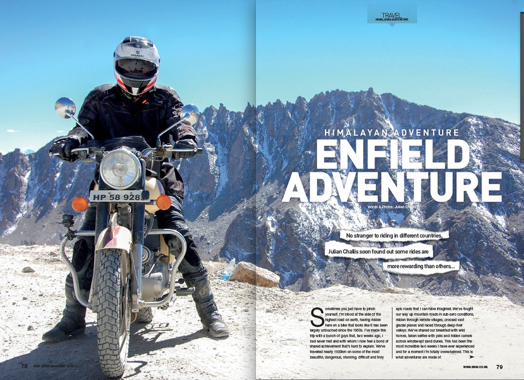 Riding Royal Enfields in the Himalayas