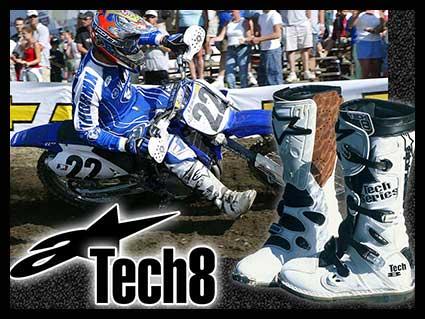 Alpinestar Tech 8 Motocross Boots