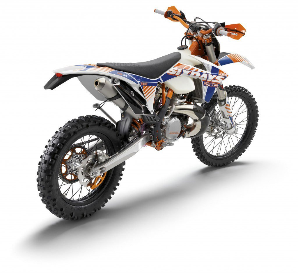 KTM EXC250 Brakes are good