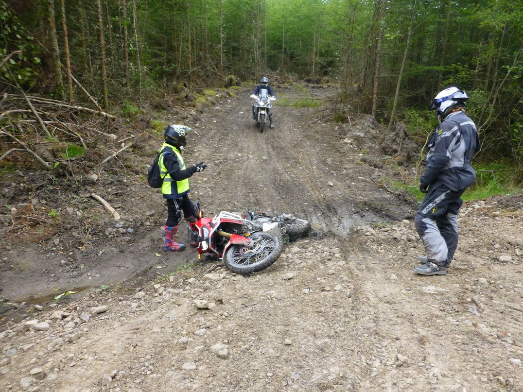 Even instructors fall off