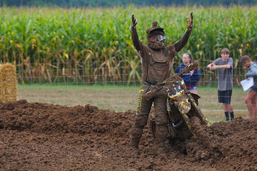 Muddy rider