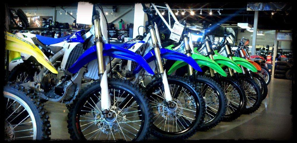 New dirt bikes