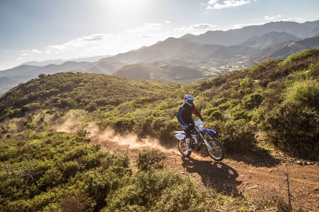 Yamaha in Corsica