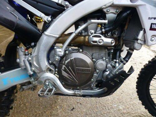 WRF450 engine