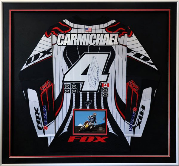 Framed race shirt