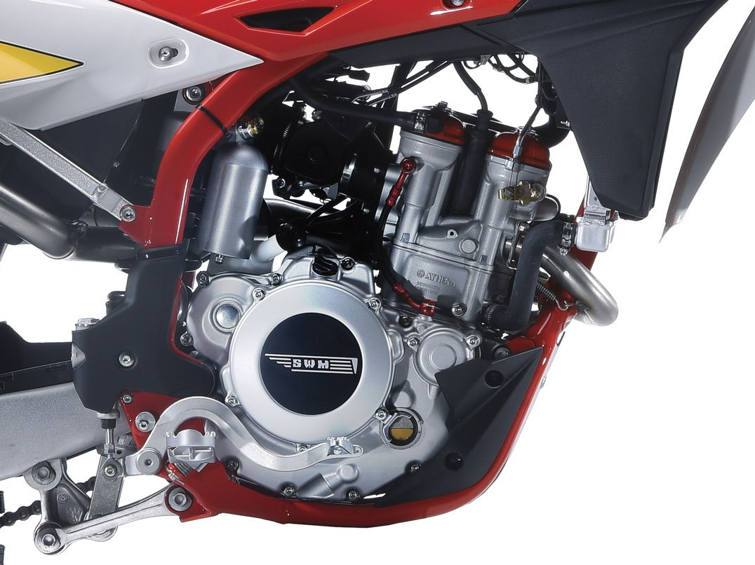 The SWM RS300R engine