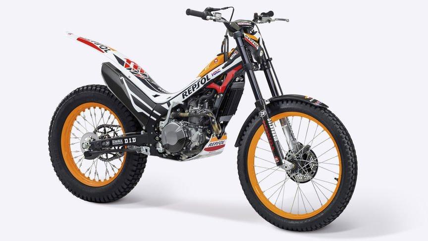 Honda trials bike