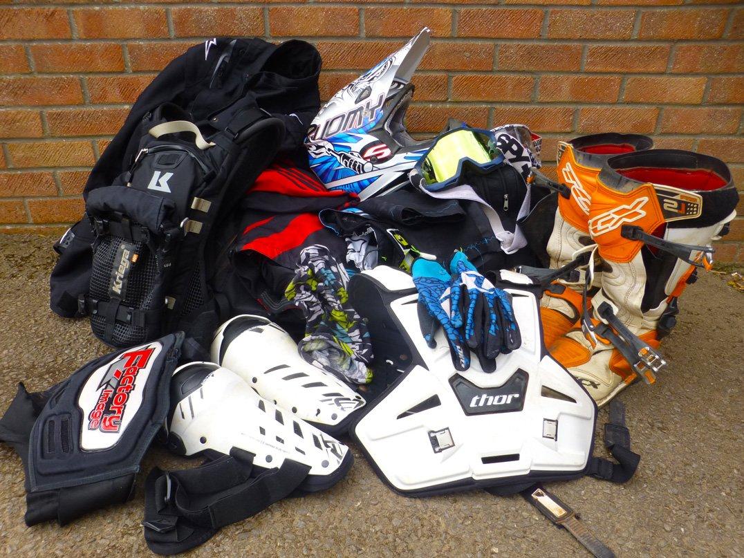 Pile of kit