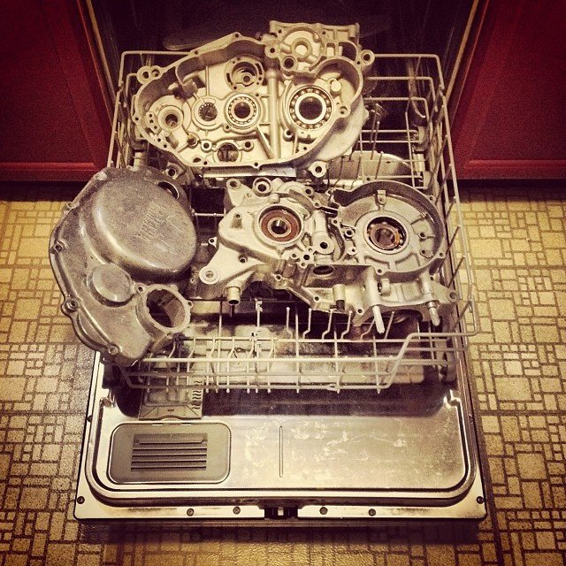 Parts washer genius