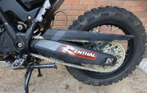 Changing the chain and sprockets