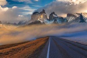 Motorcycle tour of Patagonia.