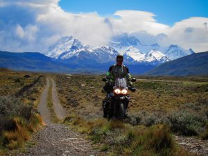 Motorcycle guide in South America